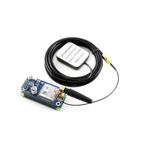 NB-IoT / eMTC / EDGE / GPRS / GNSS HAT para Raspberry Pi