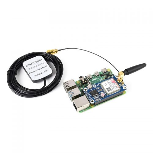 SIM7000E NB-IoT / Cat-M / EDGE / GNSS HAT para Raspberry Pi