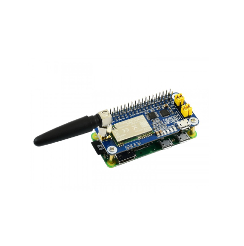 SX1262 LoRa HAT para Raspberry Pi, banda de frequência de 868 MHz, para Europa, Ásia, África