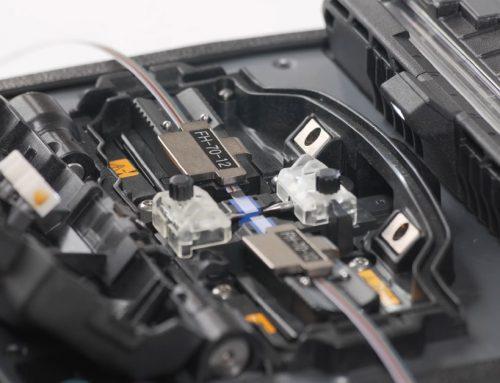 Maquina de fusão de fibra óptica para cabo ribbon óptico